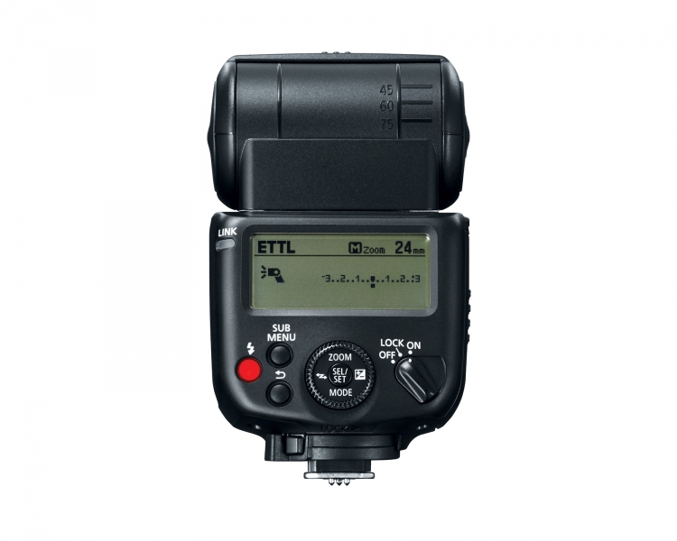 Canon Speedlite 430EX III-RT (rear)