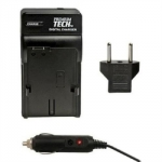 Premium Tech Travel Charger PT-15 (for Nikon EN-EL3 Battery)