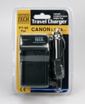 Premium Tech Travel Charger PT-25 (for Canon LP-E5 Battery)