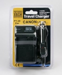 Premium Tech Travel Charger PT-48 (for Canon LP-E8 Battery)