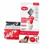 Sugru Original Mouldable Glue - Black, White, Red 3 Pack - PAST DATE SPECIAL