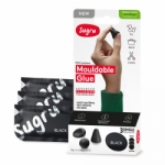 Sugru Family-Safe Mouldable Glue - Black 3 Pack - PAST DATE SPECIAL