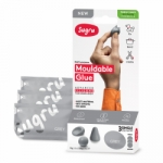 Sugru Family-Safe Mouldable Glue - Grey 3 Pack - PAST DATE SPECIAL