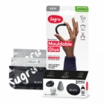 Sugru Family-Safe Mouldable Glue - Black, White, Gray 3 Pack - PAST DATE SPECIAL