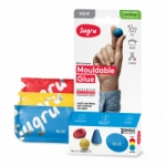 Sugru Family-Safe Mouldable Glue - Red, Blue, Yellow 3 Pack - PAST DATE SPECIAL
