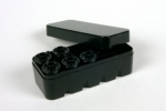 35mm Film Hard Case Black - Holds 10 Rolls of Film