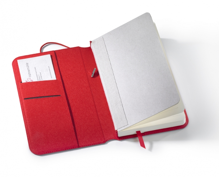 "Hahnemühle Diary Flex Notebook - Ruled 7.5x4.5"", 80 Sheets, 160 Pages"