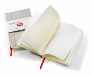 "Hahnemuhle DiaryFlex Refill - Dotted 7x4"", 80 Sheets, 160 Pages"