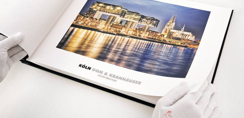 Hahnemühle Photo Rag Book & Album Duo 220 gsm - Contents Paper 20 Sheets 12 in. x 12 in.