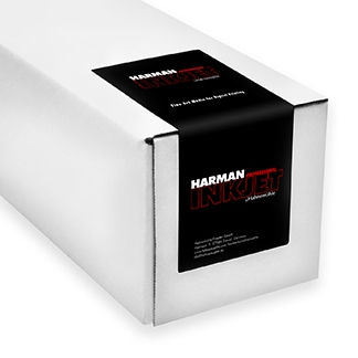 Harman by Hahnemuhle Art Fibre Glossy Warmtone 300gsm Inkjet Paper 44 in. x 49 ft. Roll
