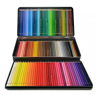 Faber Castell Polychromos Color Pencil Set - 120 Pencils in Metal ...