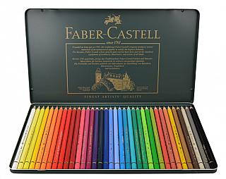Faber Castell Polychromos Color Pencil Set - 36 Pencils in Metal Tin ...