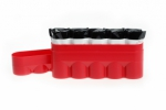 120 Film Hard Case Red - Holds 5 Rolls of 120 Size Film