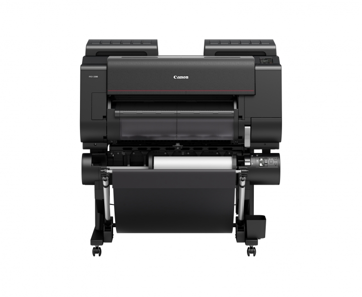 "Canon imagePROGRAF Pro-2000 24"" Wide Format Inkjet Printer with Multifunction Roll System"