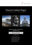 Hahnemühle Fine Art Glossy Inkjet Paper Sample Pack - 8.5x11/16 Sheets