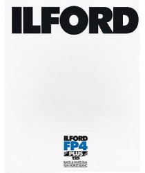 Ilford FP4+ 125 ISO 12x15/25 Sheets