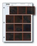 Printfile 120-4B Archival Negative Preservers 120 size 4 strips of 3 negatives - 25 pack