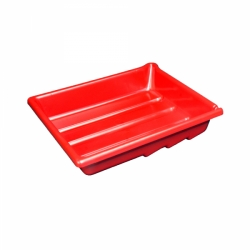 Arista Developing Tray - Single Tray - 8x10/Red