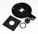 Beseler 23C Lens Kit - Includes: Arista 50mm f/3.5 Enlarging Lens, Delta Bes-Board, Jam Nut & 35mm Standard