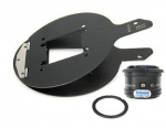 Beseler 23C Lens Kit - Includes: El-Omegar 75mm Lens, Lensboard, Jam Nut, & Carrier