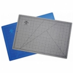 Alvin HM Series Blue/Gray Self-Healing Hobby Mat - 12 in. x 18 in.