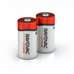 Rayovac  CR123A 3 volt Lithium Battery - 2 pack