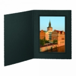 Buckeye Photo Folder 5x7 Portrait Black - 10 pack