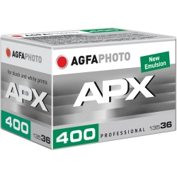 AgfaPhoto APX Black and White 400 ISO 35mm x 36 exp.
