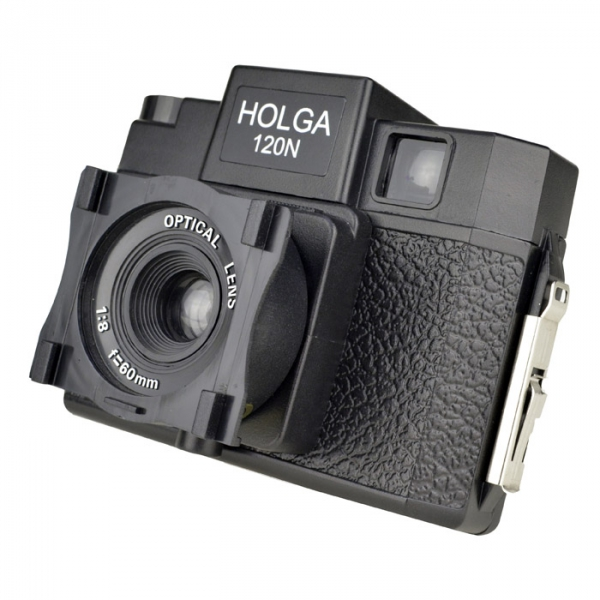 The Holga Lens/Filter Holder is specially designed for filters to slide easily into place.