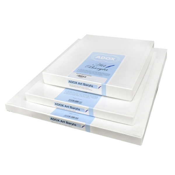 Adox Baryta Uncoated Glossy Art Paper for Alternative Processes - 12x16 (30cm x 40cm) 50 sheets