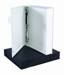 Vue All Archival Safe-T Binder White