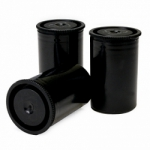 Arista Plastic Cartridge Cans 25 Pack - Black