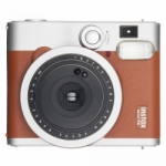 Fuji Instax Mini 90 Neo Brown/Silver Classic - Instant Film Camera
