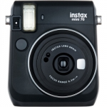 Fuji Instax Mini 70 Instant Film Camera - Midnight Black