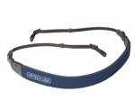 OP/TECH Fashion Strap 3/8 in. Camera Strap - Navy Blue