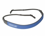 OP/TECH Fashion Strap 3/8 in. Camera Strap - Royal Blue