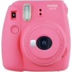 Fuji Instax Mini 9 Instant Film Camera - Flamingo Pink
