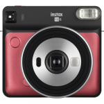 Fuji Instax Square SQ6 Instant Film Camera - Ruby Red