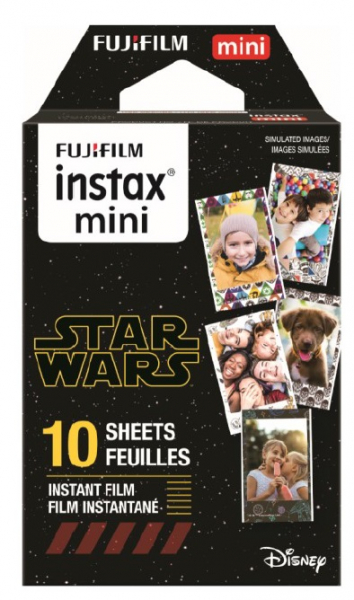 Fujifilm Instax Mini STAR WARS Instant Film - 10 Sheets