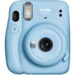 Fuji Instax Mini 11 Instant Film Camera - Sky Blue