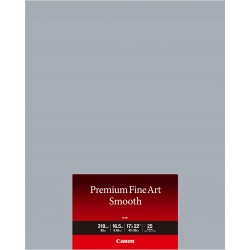 Canon Premium Fine Art Smooth Matte Inkjet Paper - 310gsm 17x22/25 Sheets