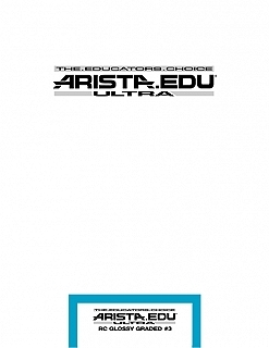 Arista EDU Ultra RC Glossy Grade #3 8x10/100 Sheets