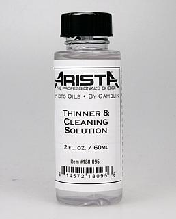 Arista Photo Oils - Thinner/Cleaning Solution -  2 oz.