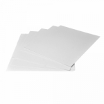 Arista Mat Board 8.5x11 4-ply White Both Sides  - 10 pack
