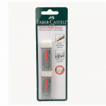 Faber-Castell Dust-Free Vinyl Erasers 2-pack
