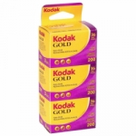 Kodak Gold 200 ISO 35mm x 36 exp. (3-Pack)