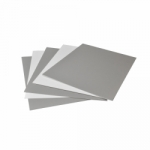 Arista Mat Board 8x10 4-ply TV Gray/White - 25 pack