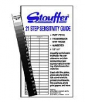 Stouffer Transmission Step Wedge Gray Scale #T2115 - 21 Step (1/2 inch x 5 inch)