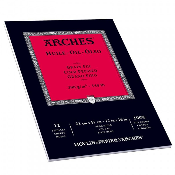 Arches Oil Paper 300GSM Paper for Handcoloring - 51 in. x 30 ft.  Roll