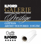 Ilford Galerie Prestige Cotton Artist Textured Inkjet Paper - 310gsm 44 in. x 49 ft. Roll